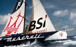 Soldini and Maserati set new Golden Route record